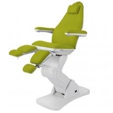 Elektrinis pedikiūro krėslas, 3 varikliai, laimo (žalios) sp.