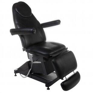 Elektrinis kosmetologinis krėslas BT-158, 3 varikliai, juodos sp.