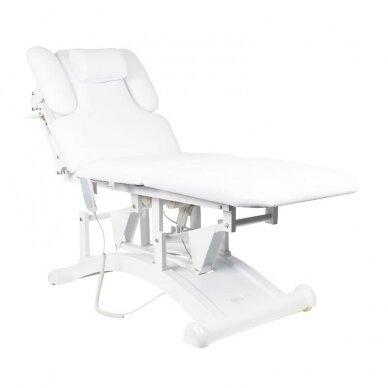 Elekrinė masažo lova BASIC 165 3 varikliai baltos sp.