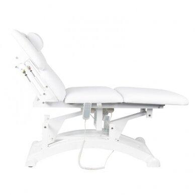 Elekrinė masažo lova BASIC 165 3 varikliai baltos sp. 6