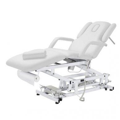 Elektrinė daugiafunkcinė SPA, masažo lova Weelko Acrum, 3 varikliai, baltos sp.