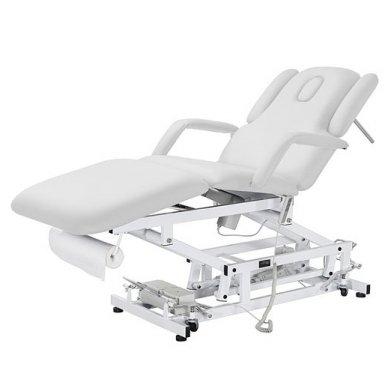 Elektrinė daugiafunkcinė SPA, masažo lova Weelko Acrum, 3 varikliai, baltos sp. 2