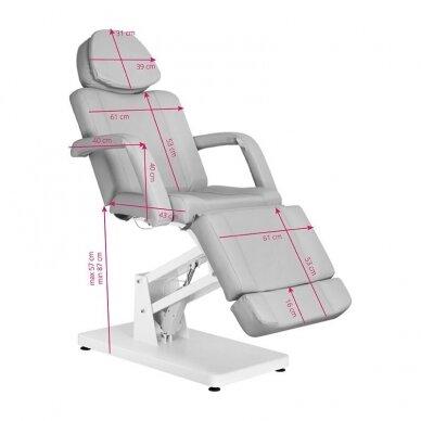Elektrinė kosmetologinė kėdė BASIC 171, pilkos sp. 2