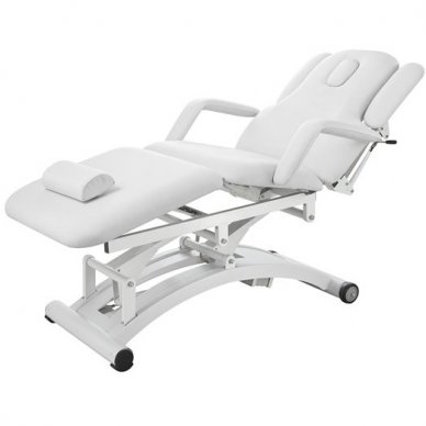 Elektrinė masažo lova Weelko Sphen, 3 varikliai, baltos sp.