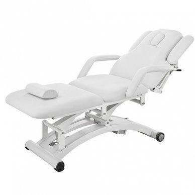 Elektrinė masažo lova Weelko Sphen, 3 varikliai, baltos sp. 2