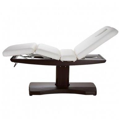 Elektrinė SPA, masažo lova Weelko Ulna, 3 varikliai, balta/ruda sp.