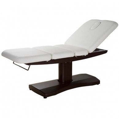 Elektrinė SPA, masažo lova Weelko Ulna, 3 varikliai, balta/ruda sp. 2