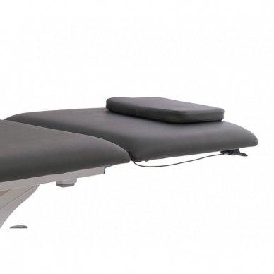 Elektrinis fizioterapijos, masažo stalas Weelko Torac, 2 dalių, 1 variklis, pilkos sp. 3
