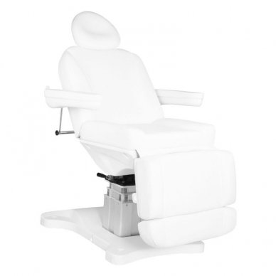 Elektrinis kosmetologijos krėslas AZZURRO 877, 4 varikliai, baltos sp.