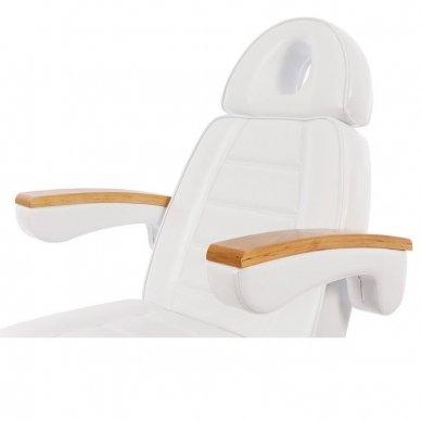 Elektrinis kosmetologinis gultas Weelko Clavi, 3 varikliai, baltos sp. 4