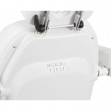 Elektrinis kosmetologinis gultas Weelko Maxi, 3 varikliai, baltos sp. 4