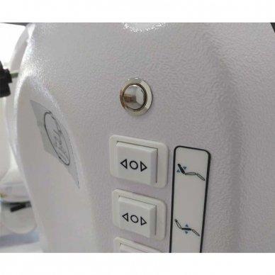Elektrinis kosmetologinis gultas Weelko Tempo, 3 varikliai, baltos sp. 4