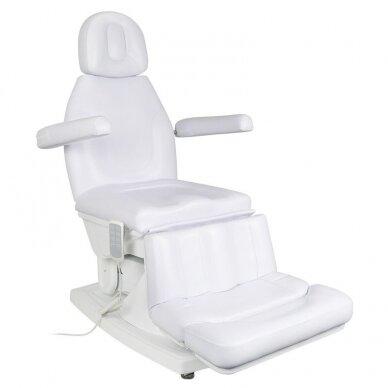 Elektrinis kosmetologinis krėslas, baltos sp.