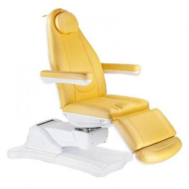 Elektrinis kosmetologinis krėslas BR-6672, geltonos sp.