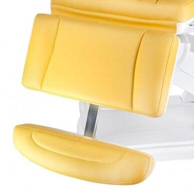 Elektrinis kosmetologinis krėslas BR-6672, geltonos sp. 3