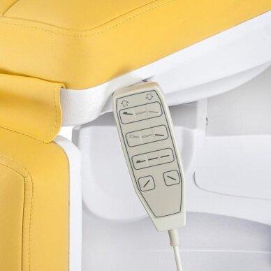 Elektrinis kosmetologinis krėslas BR-6672, geltonos sp. 4