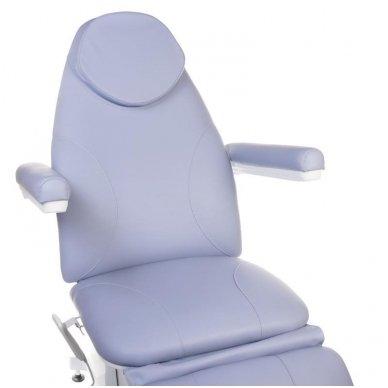 Elektrinis kosmetologinis krėslas BT-158, 3 varikliai, mėlyna sp. 2