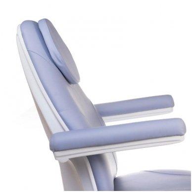 Elektrinis kosmetologinis krėslas BT-158, 3 varikliai, mėlyna sp. 5
