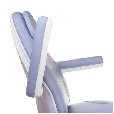 Elektrinis kosmetologinis krėslas BT-158, 3 varikliai, mėlyna sp. 6