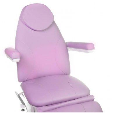 Elektrinis kosmetologinis krėslas BT-158, 3 varikliai, rožinė sp. 3