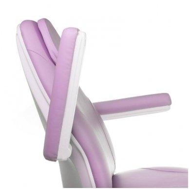 Elektrinis kosmetologinis krėslas BT-158, 3 varikliai, rožinė sp. 6
