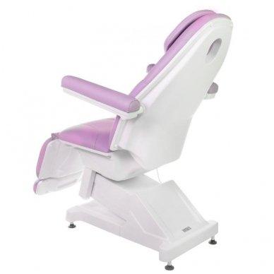 Elektrinis kosmetologinis krėslas BT-158, 3 varikliai, rožinė sp. 10