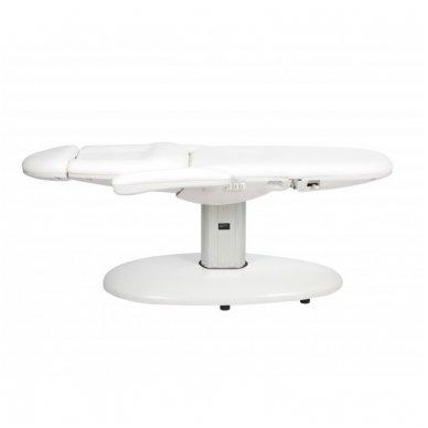 Elektrinis kosmetologinis krėslas - lova Weelko Vome, baltos sp. 3