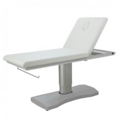 Elektrinis masažo, SPA stalas Weelko Hern, 1 variklis, baltos sp.