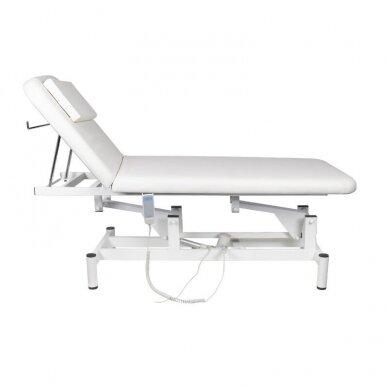 Elektrinis masažo stalas 079, baltos sp. 2