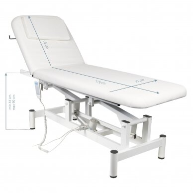 Elektrinis masažo stalas 079, baltos sp. 7
