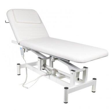 Elektrinis masažo stalas 079, baltos sp.