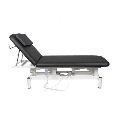 Elektrinis masažo stalas 079, juodos sp. 4