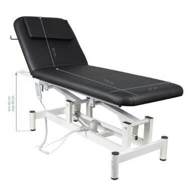 Elektrinis masažo stalas 079, juodos sp. 6
