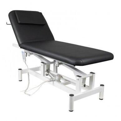 Elektrinis masažo stalas 079, juodos sp.