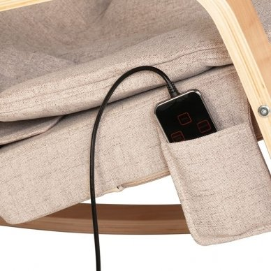 Elektrinis SPA krėslas RELAX su masažo funkcija 6