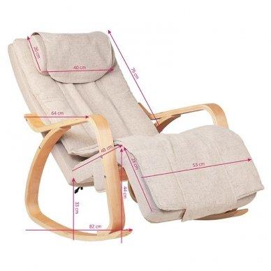 Elektrinis SPA krėslas RELAX su masažo funkcija 2