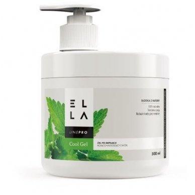 ELLA mėtų gelis po depiliacijos, 500 ml