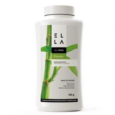 """ELLA pudra ''Bambukas"""" prieš depiliacija cukrumi, 100g"""