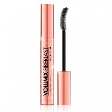 Eveline Cosmetics Volumix Fiberlast Ultra False Lash ilginantis ir tankinantis tušas,  Black 10ml