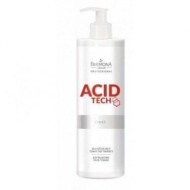 FARMONA ACIDE TECH šveičiamasis veido odos tonikas su 10% glikolio rūgštimi, 280ml