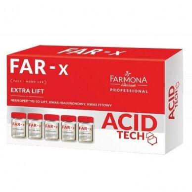 FARMONA FAR-X aktyvus koncentratas su pakeliamuoju efektu, namų naudojimui 5x5ML