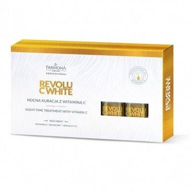 FARMONA REVOLU C WHITE Vitamino C koncentratas nakčiai, 5x5ml
