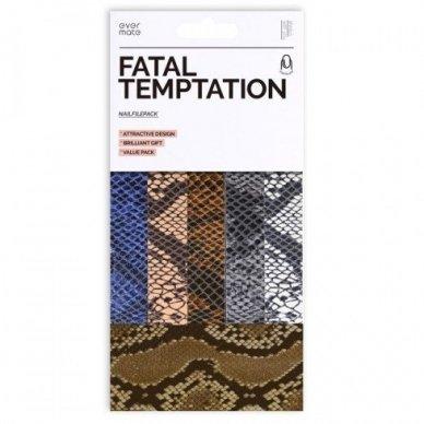 FATAL TEMPTATION nagų dildžių rinkinys, 180, 5 vnt.