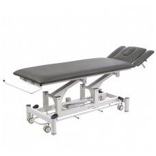 Fizioterapijos, masažo stalas Weelko Quio, 1 variklis, pilkos sp.