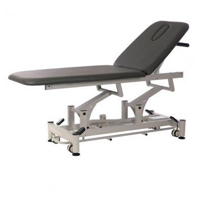 Fizioterapijos, masažo stalas Weelko Flot, tamsiai pilkos sp.