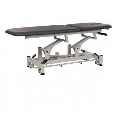 Fizioterapijos, masažo stalas Weelko Flot, tamsiai pilkos sp. 2