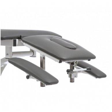 Fizioterapijos, masažo stalas Weelko Quio, 1 variklis, pilkos sp. 2