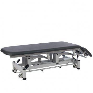 Fizioterapijos, masažo stalas Weelko Quio, 1 variklis, pilkos sp. 3