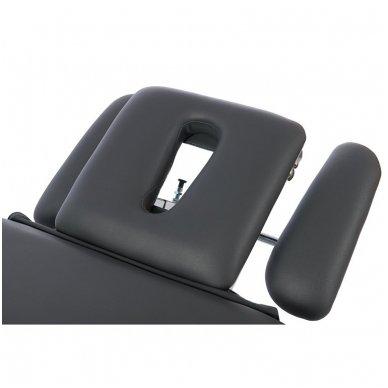 Fizioterapijos, masažo stalas Weelko Quio, 1 variklis, pilkos sp. 4