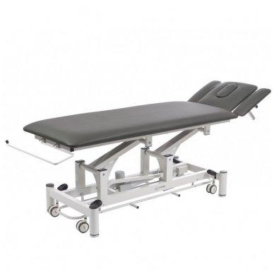 Fizioterapijos, masažo stalas Weelko Quio, 1 variklis, juodos sp.
